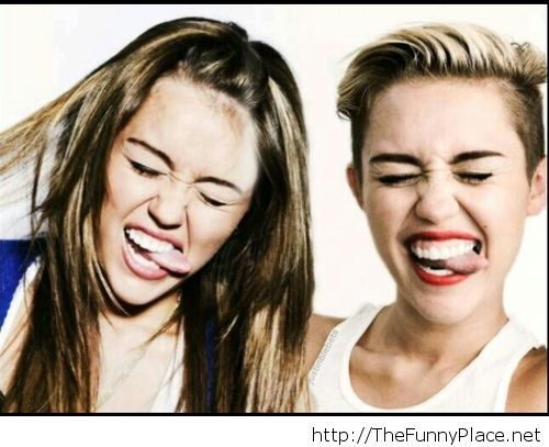 miley tongue
