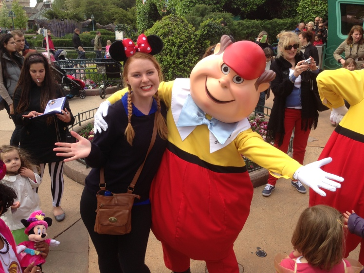 Hug from Tweedle-Dee