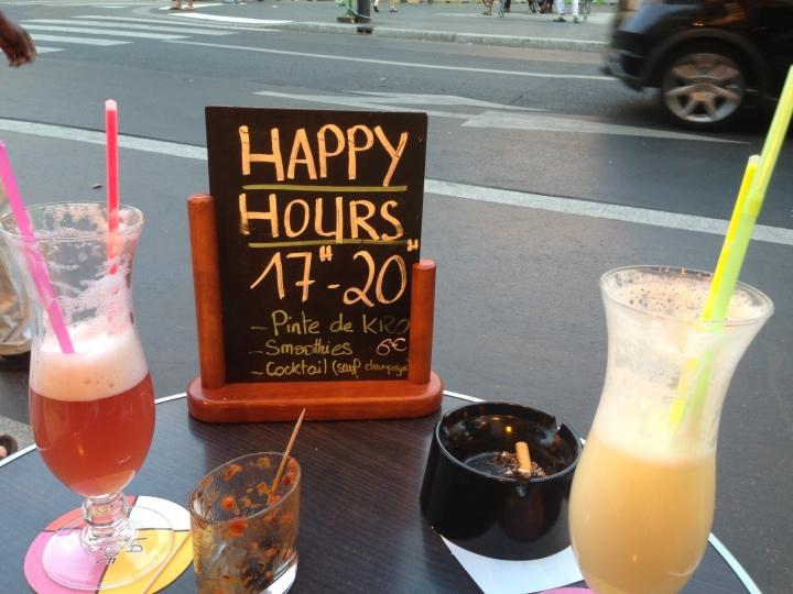 Happy hour in Paris is the happiest