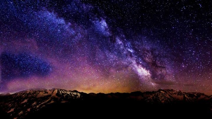Starry Starry Night HD Desktop Background