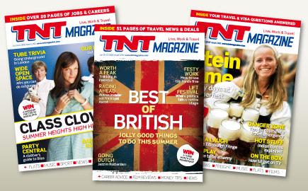 TNT magazine - Best of Australia and the UK