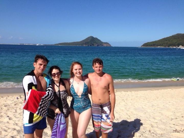 Australia Day with mates