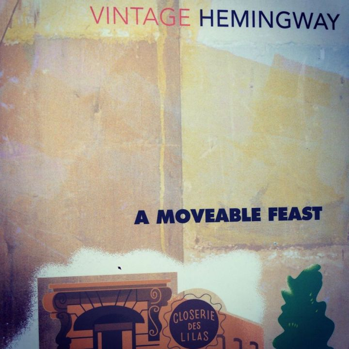 One of my favourite books I read this year! A Moveable Feast by Ernest Hemingway