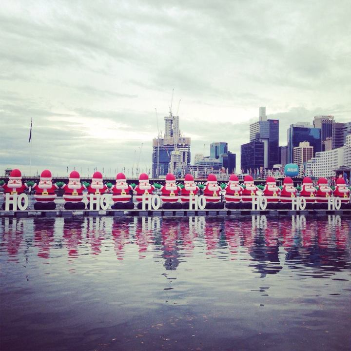 Christmas festivities in Sydney