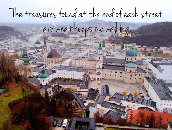 What Keeps Me Walking - Salzburg, Austria