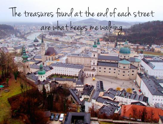What Keeps Me Walking - Salzburg, Austria