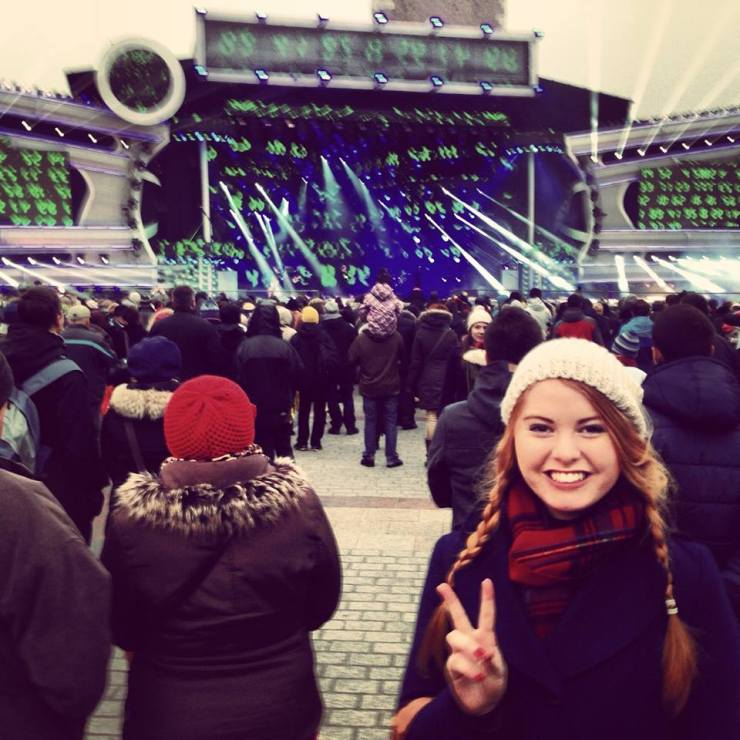 Going on an adventure on New Years Eve 2013 in Krakow, Poland with some friends