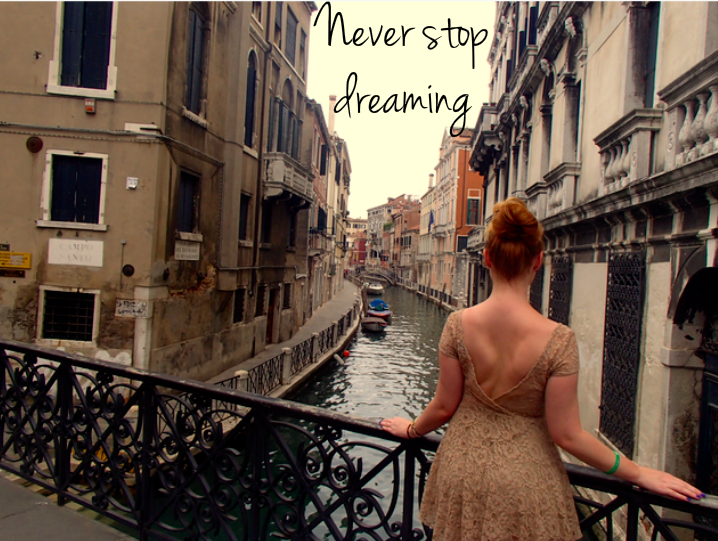 Dreaming away in Venice, Italy