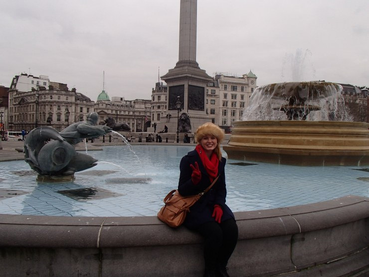 Chillin in Trafalgar Square