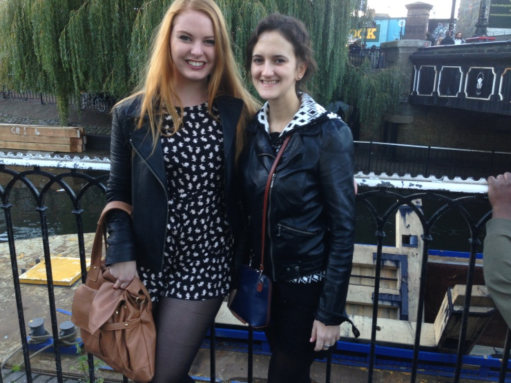 Camden with my girl