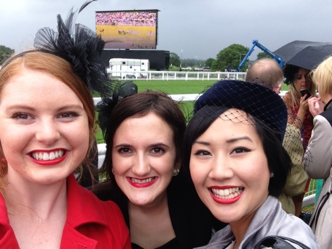 At the Royal Ascot