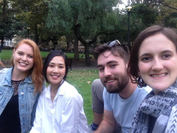 Me, Nicole, Charline and Mack