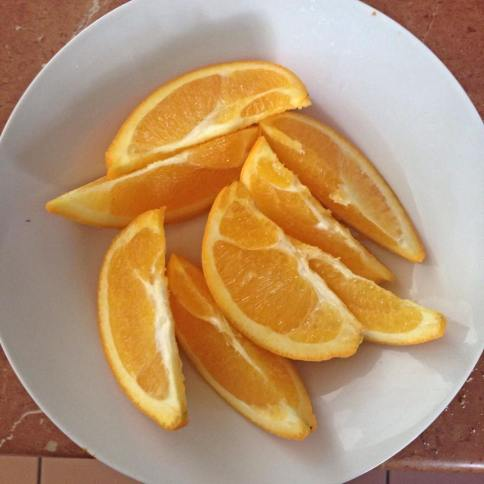 Oranges are my favourite study food