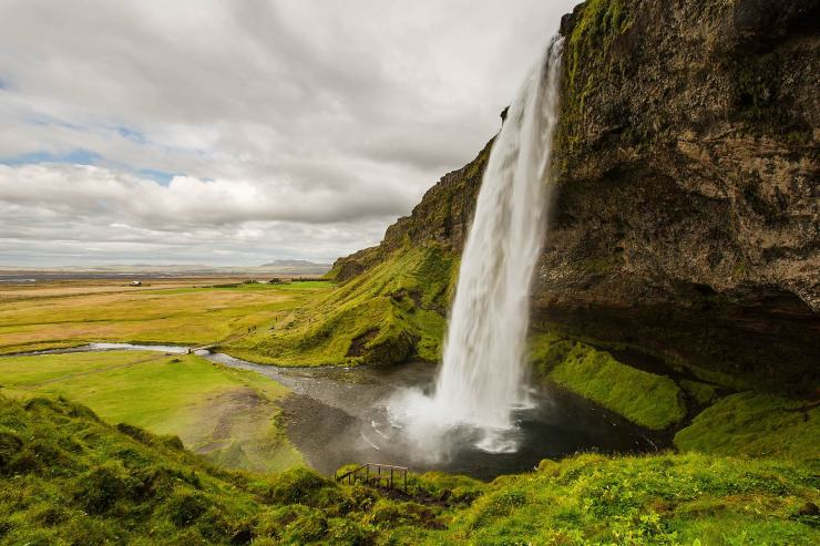Selijalandsfoss, source