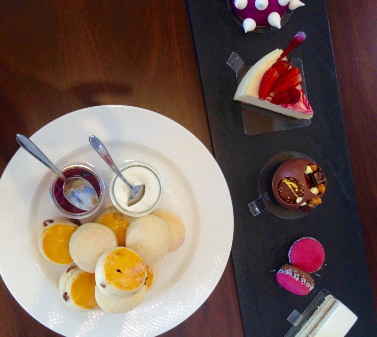 Desserts by the renowned Anna Polyviou at the Shangri-La