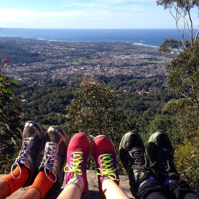 Hiking Mount Kiera, Wollongong