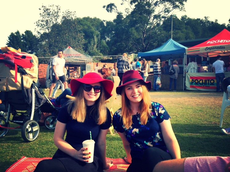 Check out a local farmers markets and enjoy some local, tasty food with friends