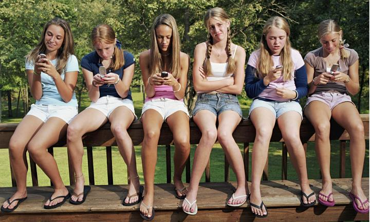Concerns with teenagers and their devices. Source