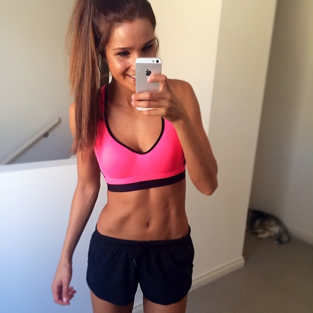 Kayla Itsines. Source