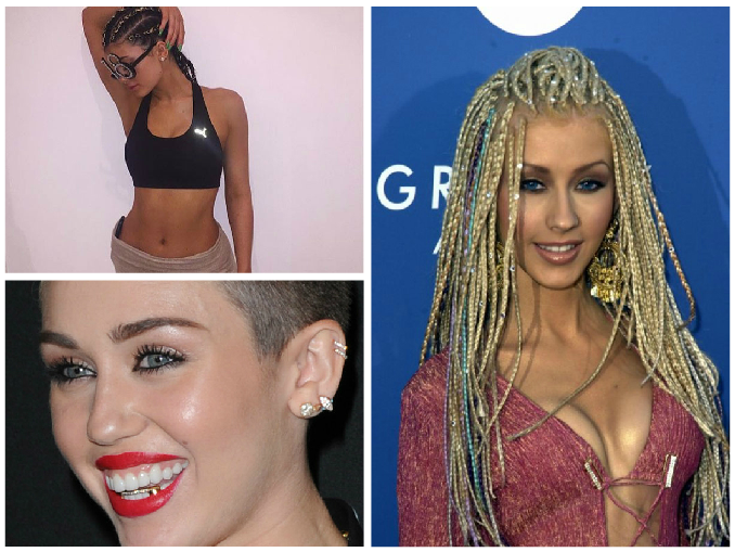 Black cultural appropriation by celebrities: Kylie Jenner, Miley Cyrus and Christina Aguilera