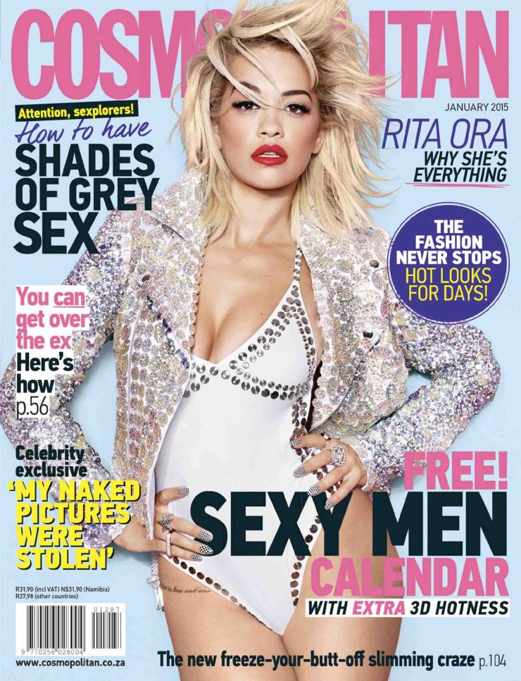 South Africa's Cosmopolitan January 2015 issue. Source