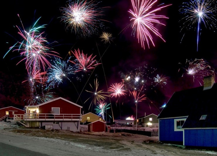 New Years in Greenland. Source