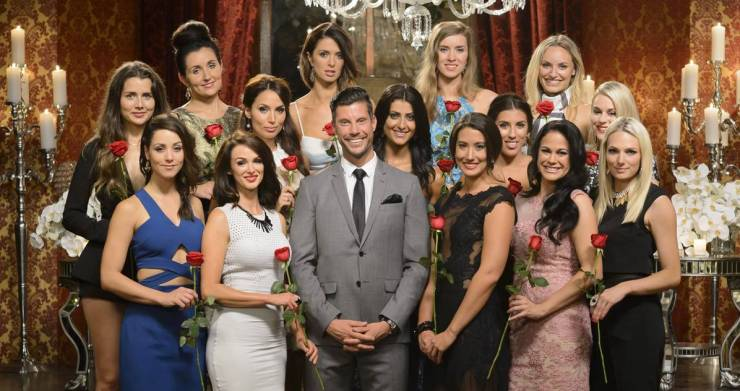 The 'contestants' on The Bachelor. Source