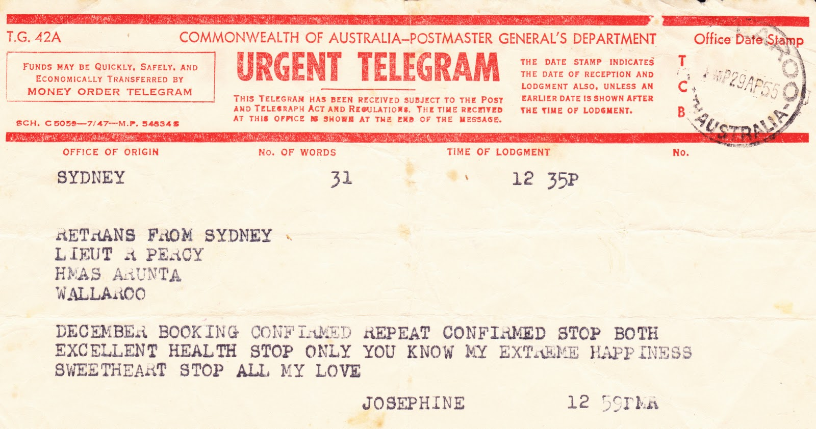 Telegrams, the text message before mobile phones