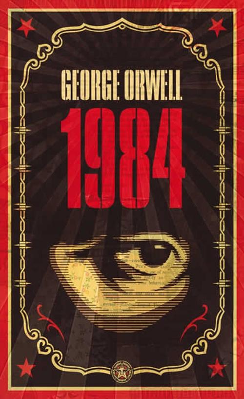 georgeorwellxobeygiantprintset-1984coverbyshepardfairey
